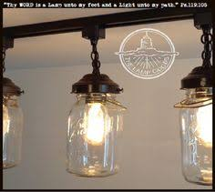 mason jar track lighting. A Mason Jar TRACK LIGHT Of 3 Vintage Quarts | Jar, Jars And Tracking System Track Lighting