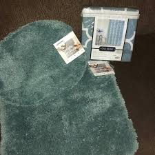 sonoma bath rugs matching shower curtain new cotton