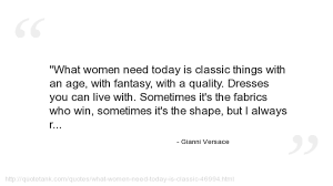 Quality Quotes Extraordinary Gianni Versace Quotes YouTube