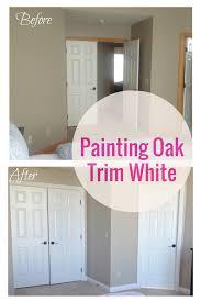 painting oak trim