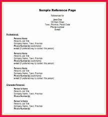Resume Example Reference Inspirational Professional