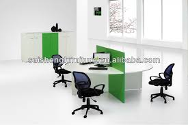 round office desk. hot sale good looking office 4 person desk round workstation high partition