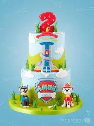 b72be95ae410eae b73ed5af3e paw patrol cake
