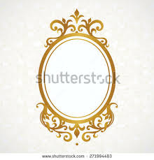 victorian frame design. Vector Decorative Frame In Victorian Style. Elegant Element For Design, Place Text. Design S