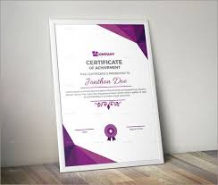 Free Editable Certificate Templates For Word Enchanting 48 Amazing Photo Realistic Certificate Templates Best