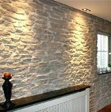 decorative stone wall faux
