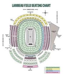 Lambeau Seating Chart 2 Tickets Green Bay Packers Vs Tampa Bay Buccaneers 12 3