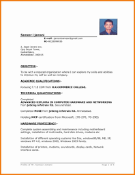 Computer Hardware And Networking Resume Samples 24 Elegant Download Latest Resume Format Resume Templates Ideas 2