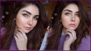 how to do winter glossy makeup tutorial urdu hindi nishoo khan