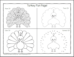 Thanksgiving Worksheet Packet for Kindergarten and First Grade ...