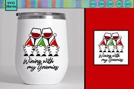 Merry christmas svg, christmas gnomes svg, cute gnomies svg, buffalo plaid, kids funny christmas shirt svg file for cricut & silhouette, png. Christmas Wine Glass Svg Christmas Gnomes Svg Gnomies Svg 864729 Cut Files Design Bundles
