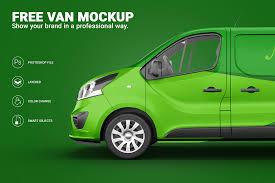 Create designs, videos & mockups. Van Mockup Projects Photos Videos Logos Illustrations And Branding On Behance