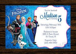 Frozen Birthday Invitation Wording Ideas Best Happy