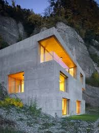 concrete home designs. concrete house. great idea for energy efficiency in a home! plus they look awesome home designs n