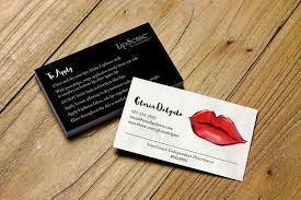 Senegence Business Card Template Or Watercolor Lips Printable