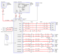 radio wiring diagram for 2008 v6 ford mustang forum click image for larger version radio schematic a jpg views 58107 size 381 0
