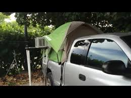 Truck Tentn' - Air Conditioned Truck Tent - The Sailing Rode - YouTube