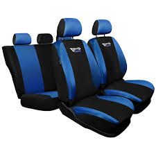 tg bl black blue car seat covers set for nissan murano i z50 ii z51