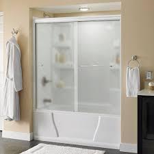 bathroom showers. simplicity 60 in. x 58-1/8 semi-framed sliding bathroom showers