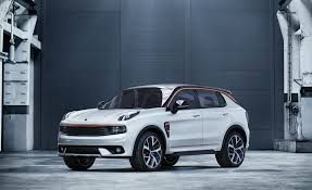 new car releases 2016 usaVolvos Geely Launches New Auto Brand  News  Car and Driver