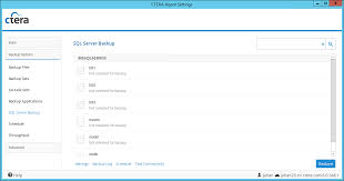 note instances and databases already marked for backup are displa enabled