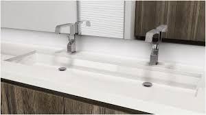 undermount bathroom double sink. Undermount Trough Bathroom Sink » Unique Vc848u 48 Double The Cube M