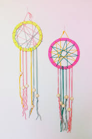 Diy Dream Catchers For Kids Camp Home Cardboard Dream Catchers Make Pinterest Dream 18