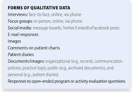 faqs about qualitative research and cme there are some important differences between