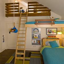 Home-Dzine - Loft bed ideas for children's rooms