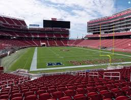 San Francisco 49ers Seating Chart 3d Levis Stadium Section 105 Seat Views Seatgeek