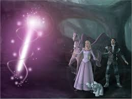 Barbie And The Magic Of Pegasus Wand Of Light The Wand Of Light Staff Being Created By Annika From Barbie