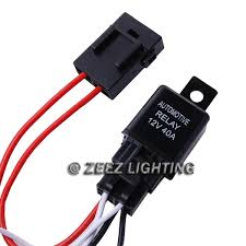 fog light relay harness wire kit hid led lamp worklamp spot work Fog Lamp Relay Wiring fog light relay harness wire kit hid led lamp worklamp spot work driving bar c14 fog lamp relay switch wiring