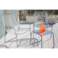 Ensemble table et fauteuil de jardin | Fourlon