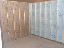 basement insulation with fiberglass and foam board