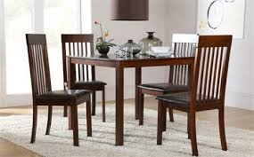 dark wood dining room furniture. milton square dark wood dining table with 4 oxford chairs room furniture o
