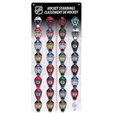 Franklin Sports Nhl Micro Mask League Standings Tracker
