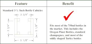 Wine rack plans measurements Wine Bottle Furniture Measurements Easyslimme Easyslim Page Easyslimme
