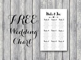 free wedding seating chart printable template editable 2