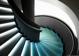 spiral staircase lighting. Spiral Staircase By Pingallery Lighting E