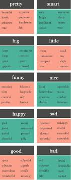 17 best ideas about writing words creative writing 10 boring words and what to use instead learn english words synonyms