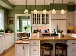 what color paint kitchen walls with cream cabinets trendyexaminer green white schemes cool colors wow wall