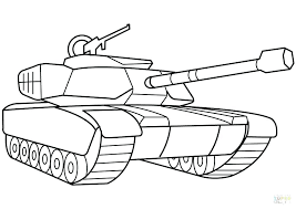 army truck coloring pages tank vehicle print page printable