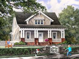 image of cottage mission style bungalow house plans