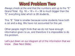 How To Solve Venn Diagram Word Problems Venn Diagram Word Problems