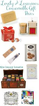 lovely luxurious consumable gift ideas for gifts that