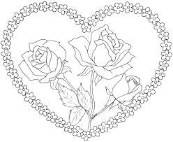 Coloriage Coeur Imprimer Gratuit Nora Aceval Com
