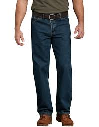 <b>Relaxed Fit</b> Jeans for Men , Heritage <b>Tinted</b> Khaki Size 50 32 ...