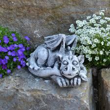 dragon statue concrete garden statue