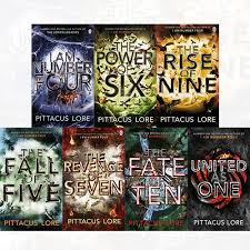 lorien legacies series 7 books collection set by pittacus lore i am number new