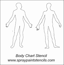 Human Body Outline Printable Muscle Blank Diagram Human Body Anatomy ...